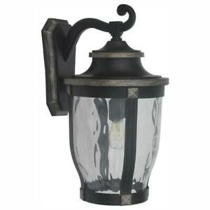 Home Decorators Collection Wall Lantern Outdoor Sconce McCarthy 1-Light Bronze