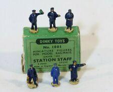 Dinky Toys GB n° 1001 station staff figures Hornby OO en boîte