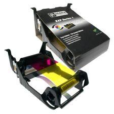 Genuine 800011-140 YMCKO Color Ribbon for Zebra ZXP Series 1 Printer 100 Image
