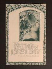 Ultima V - Paths of Destiny - Official Clue Book -  *RARE* Strategy Guide Origin