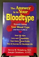 The Answer is in Your Bloodtype by Joseph Christiano (1999, Paperback) (284)