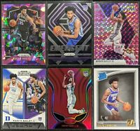 Lot of (6) Marvin Bagley III, Including Donruss RC, Prizm/Mosaic pink, Emergent
