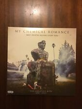 My Chemical Romance May Death Never Stop You pink colour vinyl best of greatest
