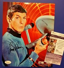 Leonard nemoy star trek signed 8x10 w/coa Jsa