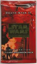 DEATH STAR II BOOSTER PACK [Factory Sealed - Mint from a new box] star wars ccg