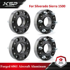 """4PC 1.5"""" Forged 6X5.5 Hubcentric Wheel Spacers for Silverado Sierra 1500"""