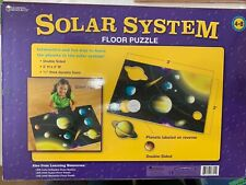 """Learning Resources Solar System Floor Puzzle 13 Piece Soft Foam 24"""" x 36"""""""