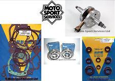 Honda CR 85 03-04 Mitaka Bottom End Engine Rebuild Kit Crank Mains Gasket Seal
