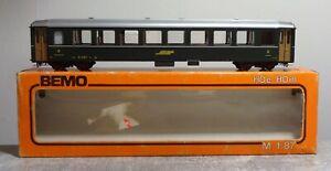 BEMO 3250 H0m RhB grüner Personenwagen top Zustand mit OVP