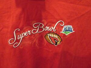 Touch by Alyssa Milano NFL Arizona Cardinals Super Bowl Women's XL Shirt Top NWT