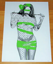 LARGE DEATH NYC - Green Wrap NUDE A/P Print - NYC COA & Sticker