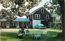 Patton's Motel & Guest House, 124 Townsend Avenue, Boothbay Harbor ME 1956