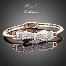 Swarovski Crystal Rose Gold Fashion Bangles