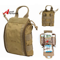 1000D Molle Tactical Rip Away EMT Medical First Aid Pouch EDC Utility Tools Bag