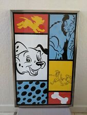 Disney All Stars Movie Resort Prop Rooms 101 Dalmatians Print Framed (#1)
