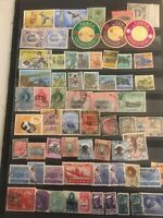 A Collection Of Foreign On Page Or Loose British French Cols Arabia M/used E-94