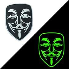 Guy Fawkes Anonymous Vendetta Klettverschluss Airsoft PVC Cosplay Patch