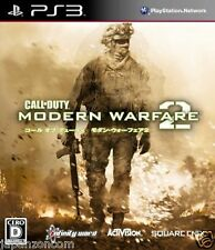 Used PS3 Modern Warfare 2 SONY PLAYSTATION 3 JAPAN JAPANESE IMPORT