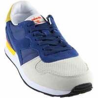 Diadora Camaro Double Ii Mens  Sneakers Shoes Casual   - Blue