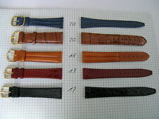 5 Uhrenarmbänder Leder