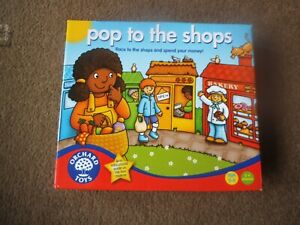 ORCHARD TOYS Fun Learning Game POP TO THE SHOPS   Age 5+ COMPLETE  VGC