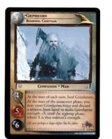 LORD OF THE RINGS LoTR EXPANDED MIDDLE EARTH 14R6, GRIMBEORN RARE TRADING CARD