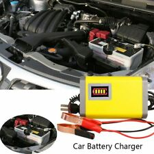 12V 2A Car Battery Charger Motorcycle Batteries Power Charge Adapter Universal