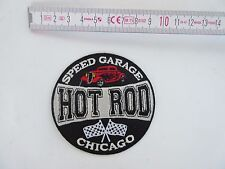 Patch SPEED GARAGE HOT ROD Chicago Boutique SWING nez Art 40s 50's V8 US