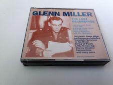 "GLENN MILLER ""THE LOST RECORDINGS"" 2CD 45 TRACKS COMO NUEVO"