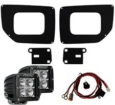 RIGID Fog Light Kit & D-Series PRO LED Lights for 15-19 GMC Sierra 2500HD 3500HD