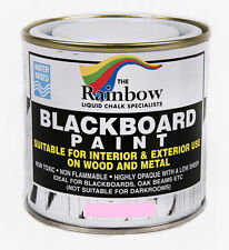 Rainbow Chalk *Pink* Blackboard Chalkboard Paint 250ml Liquid Chalk Marker Pens