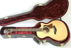 TAYLOR 812ce Grand Concert Acoustic Electric Guitar w/Case, Excellent Condition