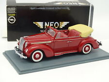 Neo 1/43 - Opel Admiral Cabrio Rouge