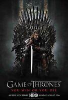 POSTER IL TRONO DI SPADE GAME OF THRONES HBO SEAN BEAN STARK JASON MOMOA  #6