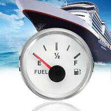 AU 52mm Vehicle Marine Fuel Level Gauge Boat Oil Tank Level Indicator 240-33ohms