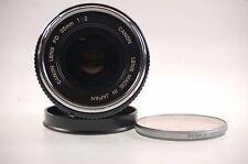 Canon Lens FD 35mm 1:2 Objektiv