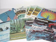 14 VINTAGE 1966 TO 1974 PA STATE LIQUOR STORE PRICE GUIDES CATALOGS
