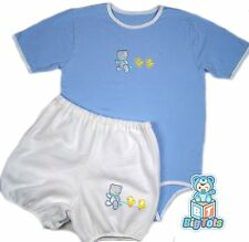 """BIG TOTS Teddy & Toy adult size  set bodysuit 38+"""" baby bear"""