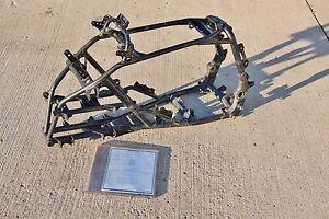 2004 or 2005 Yamaha YFZ450 frame BLACK clean straight yfz 450 04 05