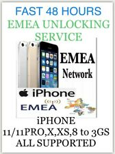 EMEA✅ All iPHONES✅ UNLOCKING SERVICE FAST 3 To 48 HOURS✅