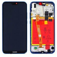 Huawei pantalla LCD marco para P20 Lite servicio embalar 02351vuv azul
