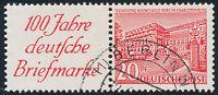 BERLIN 1949, Zusammendruck W 13, gestempelt, Mi. 100,-