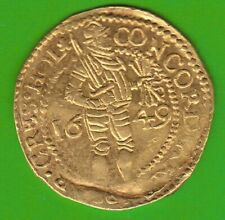 GOLD Holland Dukat 1649 in vz selten nswleipzig