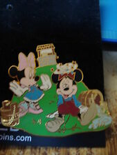 Mickey and Minnie LE 900 Disney Pin Jack and Jill