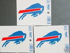 NFL Window Clings (3), Buffalo Bills, NEW
