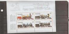 pk22938:Stamps-Canada #1039a Locomotive Trains Souvenir Sheet - MNH