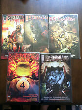SCREAMLAND COMIC SET # 1-5 IMAGE COMICS 2011 2ND SERIES