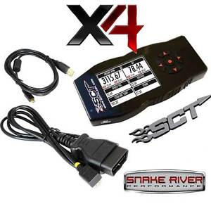 SCT X4 POWER FLASH PROGRAMMER CHEVY GMC DIESEL GAS 7416