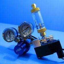 Aquarium CO2 Pressure Regulator Magnetic Valve + Bubble Counter for Plants