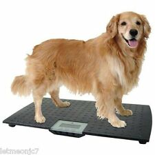Large Digital Pet Floor Scale Veterinary Vet Dog Cat Food Healthy Weight Luggage